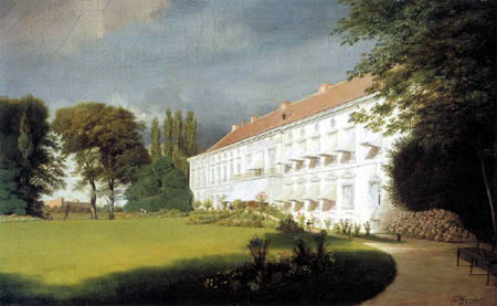 Eduard Gaertner - Palacio de Bellevue