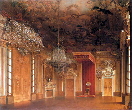 Eduard Gaertner - The Knights' Hall in the Royal Palace
