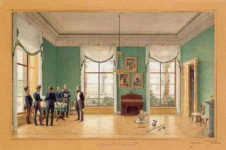 Eduard Gaertner - William's Cabinet, Album Leaf
