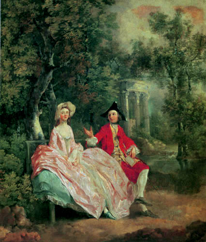 Thomas Gainsborough - Mr and Mrs Gainsborough