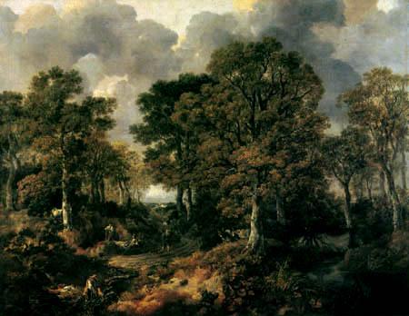 Thomas Gainsborough - Gainsborough´s Wald