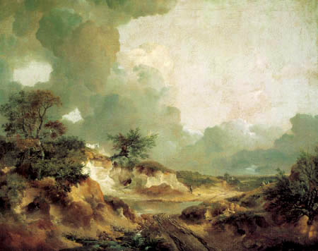 Thomas Gainsborough - Landschaft mit Sandgrube