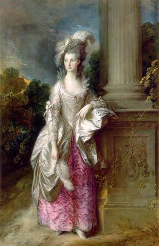 Thomas Gainsborough - Portrait of Mrs. Graham
