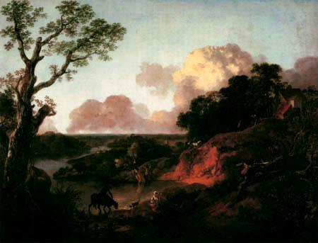 Thomas Gainsborough - Paisaje de Río