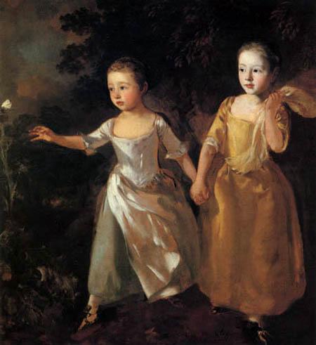 Thomas Gainsborough - The children of the artist