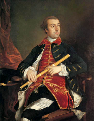 Thomas Gainsborough - Portrait of William Wollaston