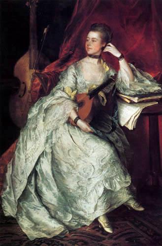 Thomas Gainsborough - Portrait of Ann Ford