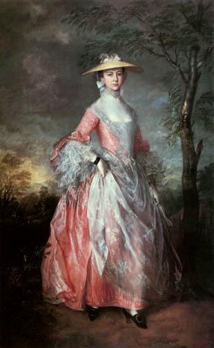 Thomas Gainsborough - Condesa Mary Howe