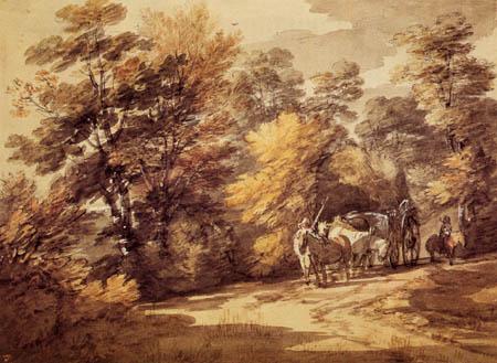 Thomas Gainsborough - Forest landscape