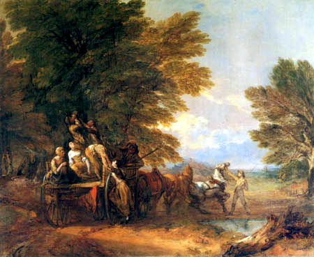 Thomas Gainsborough - Harvest Car