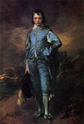 Thomas Gainsborough - Boy in Blue
