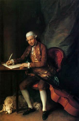 Thomas Gainsborough - Carl Friedrich Abel