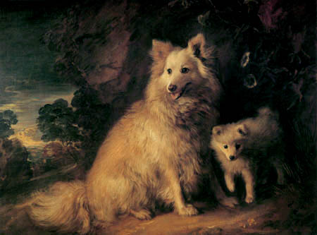 Thomas Gainsborough - The Dogs Bitch and Pup