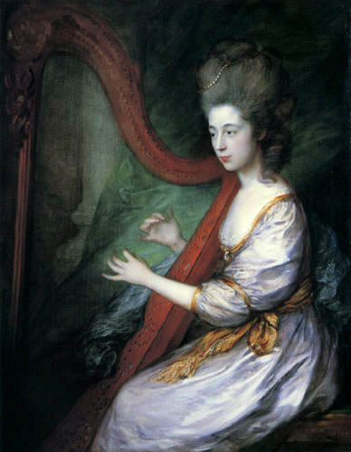 Thomas Gainsborough - Lady Louisa Clarges