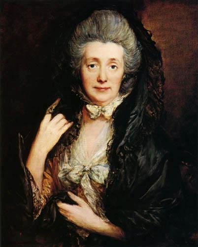 Thomas Gainsborough - Portrait of Mrs.Gainsborough