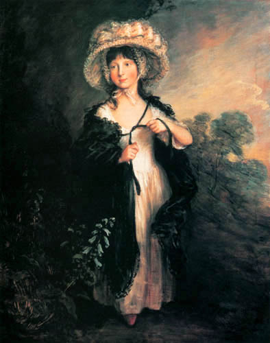 Thomas Gainsborough - Miss Haverfield
