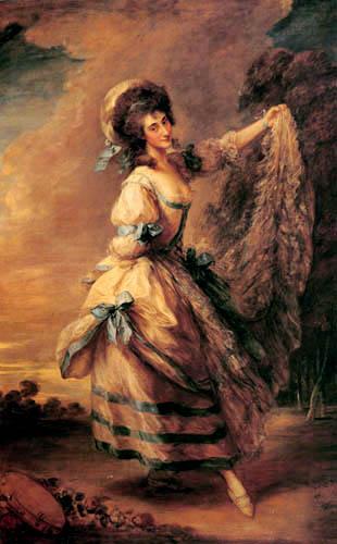 Thomas Gainsborough - Giovanna Baccelli