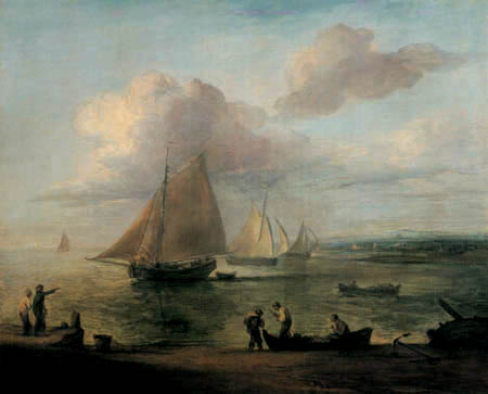 Thomas Gainsborough - Coastal landscape