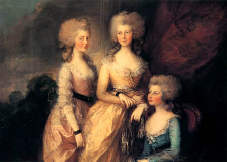 Thomas Gainsborough - The three princesses