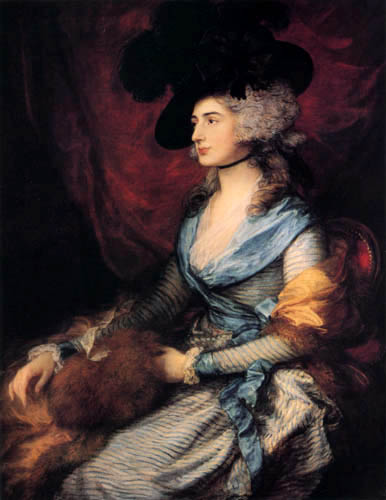 Thomas Gainsborough - Portrait of Mrs. Siddons