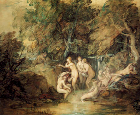Thomas Gainsborough - Diana y Acteón