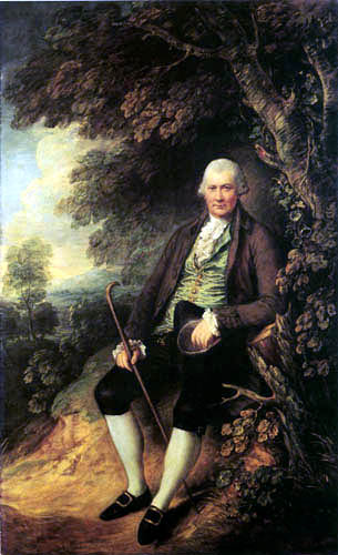 Thomas Gainsborough - Portrait of John Wilkinson