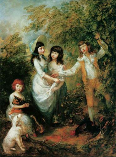 Thomas Gainsborough - Children of Marsham