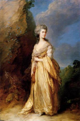 Thomas Gainsborough - Mrs. Peter William Baker