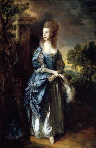 Thomas Gainsborough - Portrait of Frances Duncombe