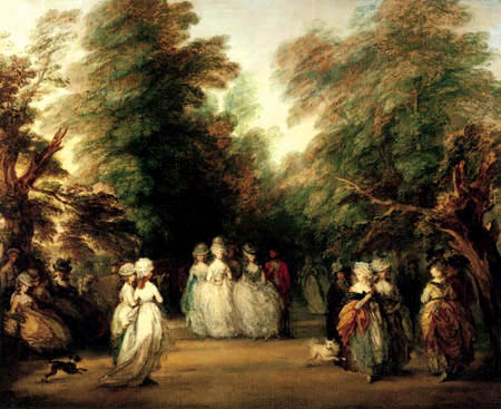 Thomas Gainsborough - The avenue in the St.James park