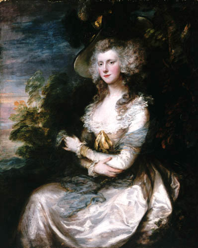 Thomas Gainsborough - Mrs. Hibbert