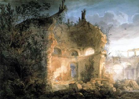 Joseph Michael Gandy - Bank of England as a ruin