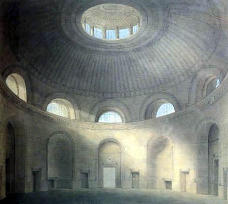 Joseph Michael Gandy - The Rotunda at the Bank of England