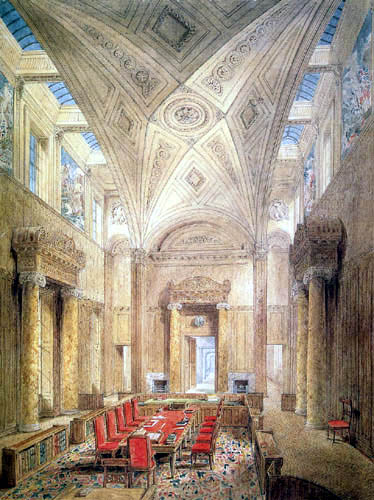 Joseph Michael Gandy - View of the Privy Council Chamber