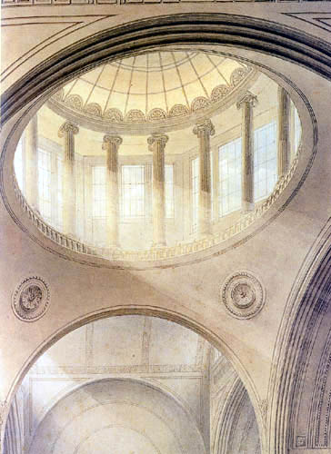 Joseph Michael Gandy - Cupola of the New Office