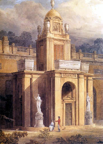 Joseph Michael Gandy - Mausoleum of Dulwich