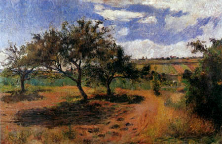 Paul Gauguin - Apple trees of the Hermitage of Pontoise
