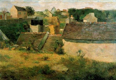 Paul Gauguin - Farmhouses