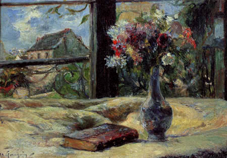 Paul Gauguin - Flower vase in the window