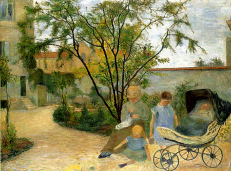 Paul Gauguin - Garden in Vaugirard