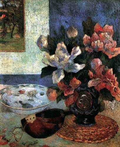 Paul Gauguin - Still Life with Mandolin