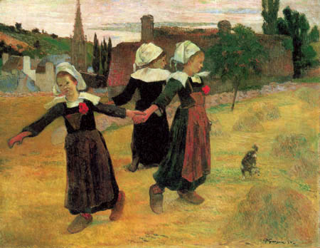 Paul Gauguin - Dancing Girls