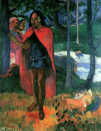 Paul Gauguin - The medicine man of Hiva Oa