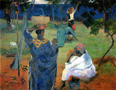 Paul Gauguin - Mango harvest