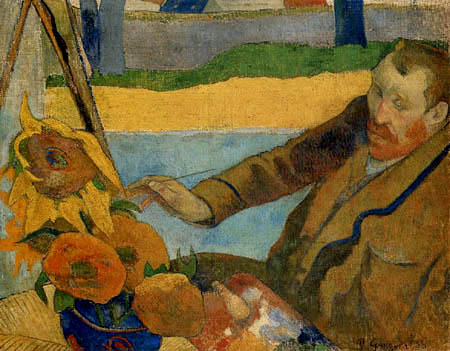 Paul Gauguin - Portrait of van Gogh