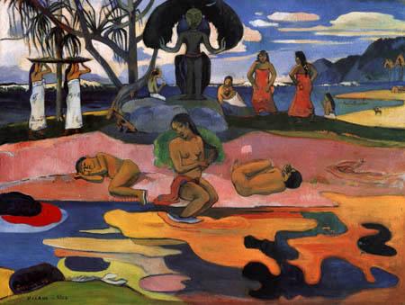 Paul Gauguin - Mahana no atua