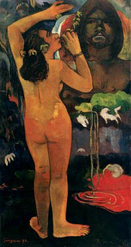 Paul Gauguin - The Moon and the Earth, Hina Tefatou