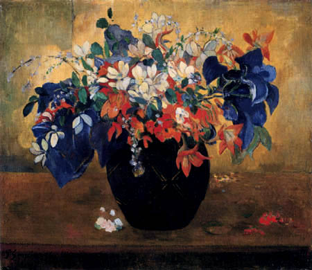 Paul Gauguin - Flower vase