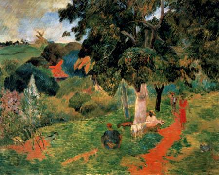 Paul Gauguin - Landscape of Martinique