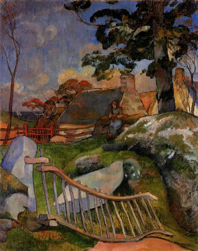 Paul Gauguin - The Gate